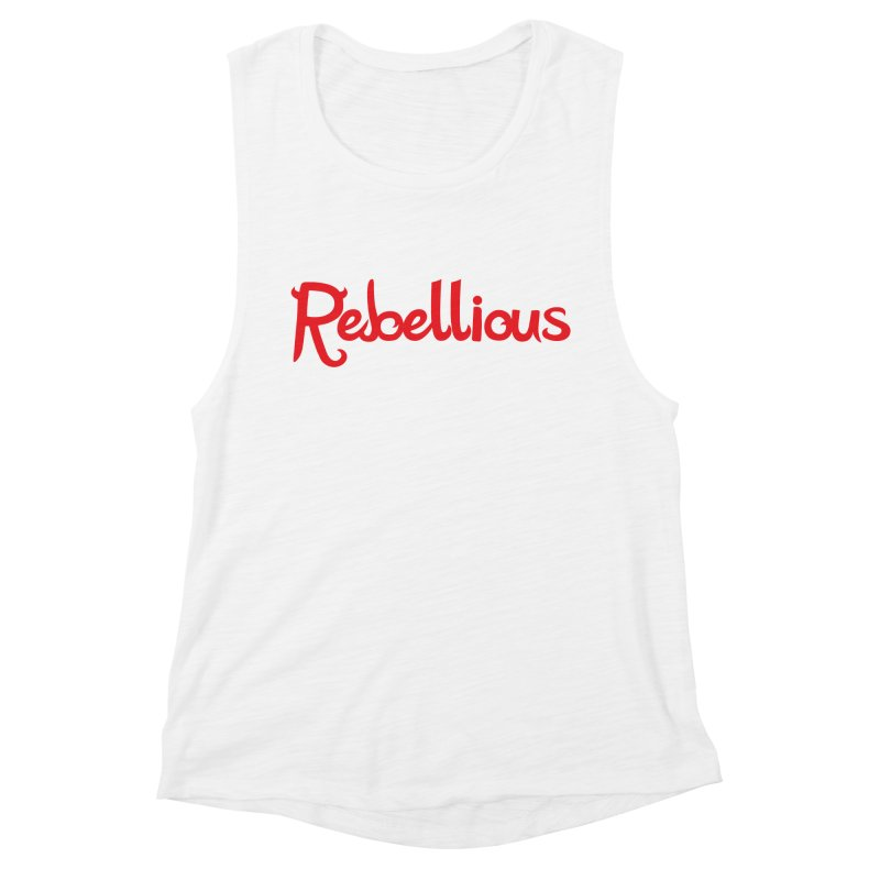 Rebellious Red Women's Tank by Rebellious Magazine