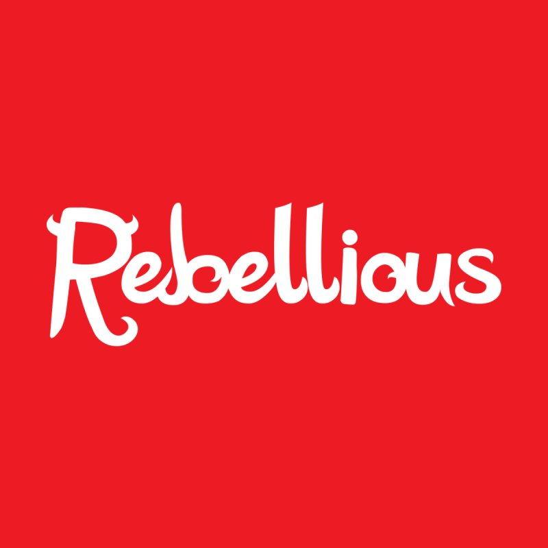 ____ & White Women's Tank by Rebellious Magazine