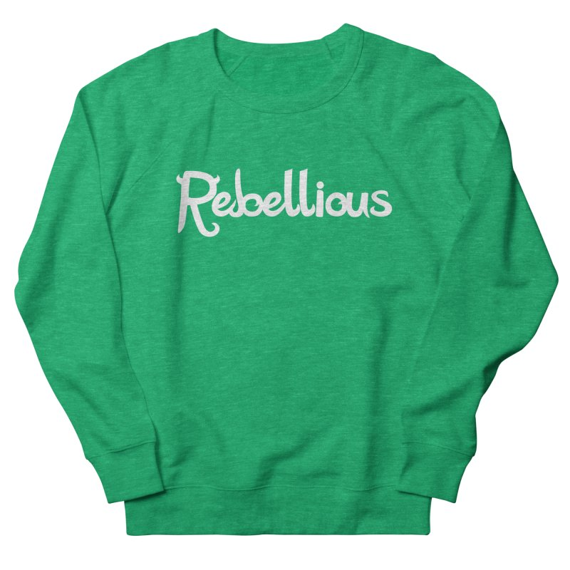 ____ & White Women's Sweatshirt by Rebellious Magazine