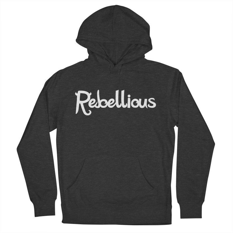 ____ & White Women's Pullover Hoody by Rebellious Magazine