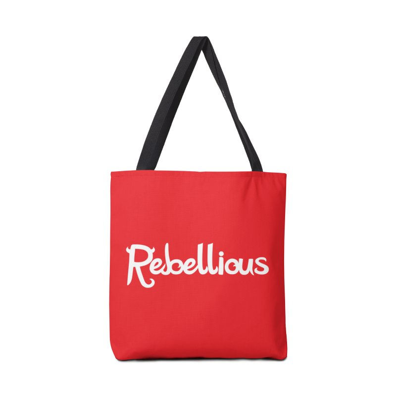 ____ & White Accessories Tote Bag Bag by Rebellious Magazine
