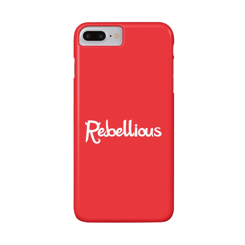 ____ & White Accessories Phone Case by Rebellious Magazine