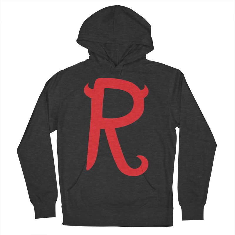 "Rebellious ""R"" Women's Pullover Hoody by Rebellious Magazine"