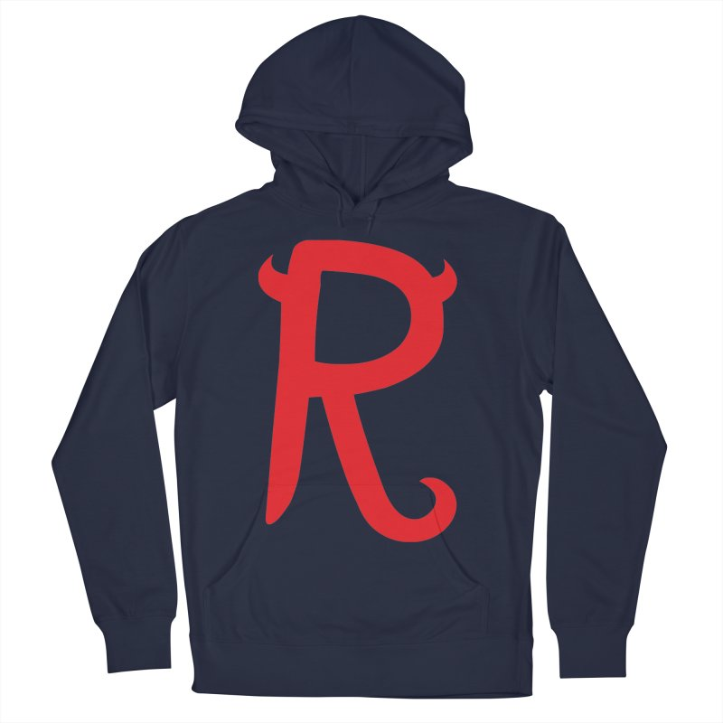 "Rebellious ""R"" Women's Pullover Hoody by Rebellious Magazine"