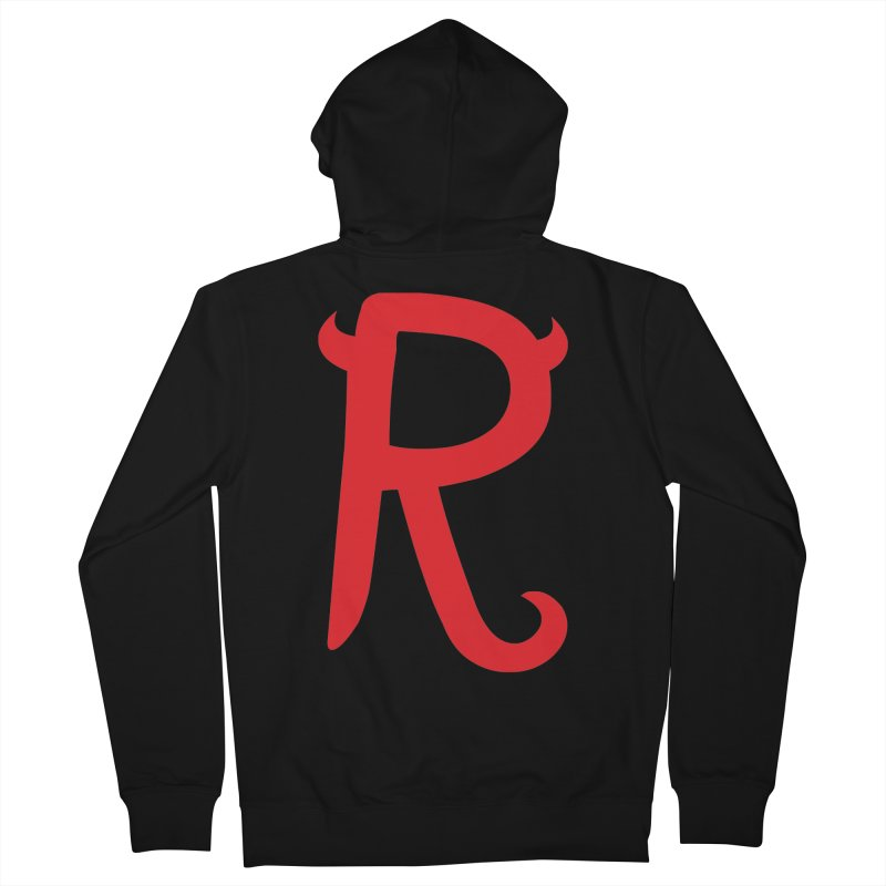"Rebellious ""R"" Women's Zip-Up Hoody by Rebellious Magazine"