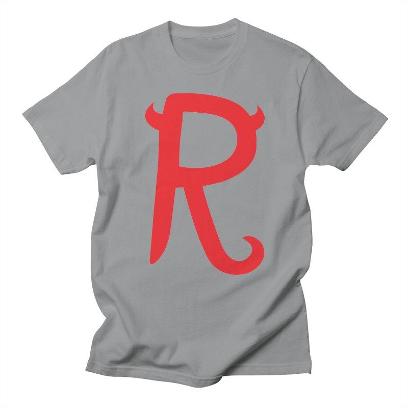 """Rebellious """"R"""" Women's Regular Unisex T-Shirt by Rebellious Magazine"""