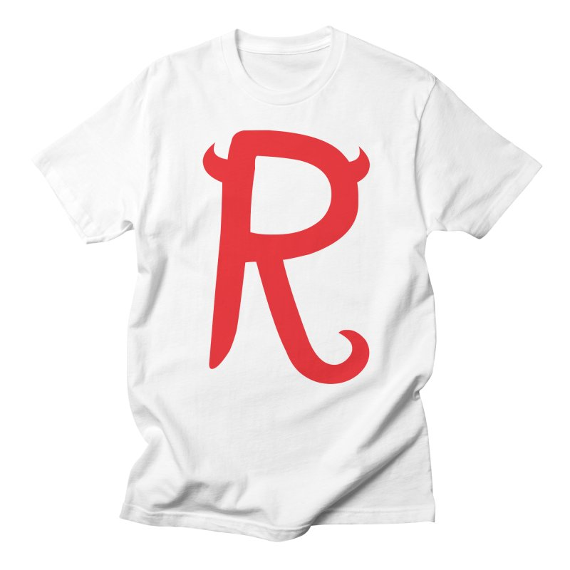 "Rebellious ""R"" Women's Regular Unisex T-Shirt by Rebellious Magazine"