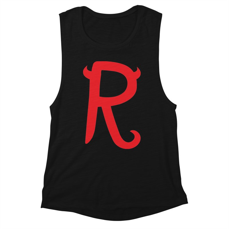 "Rebellious ""R"" Women's Tank by Rebellious Magazine"