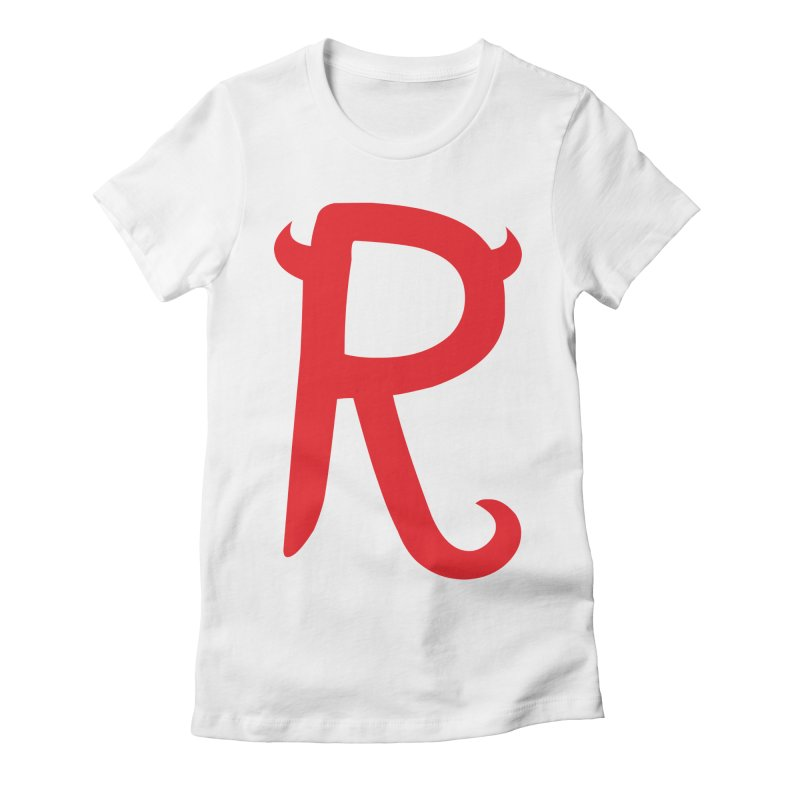"Rebellious ""R"" Women's Fitted T-Shirt by Rebellious Magazine"