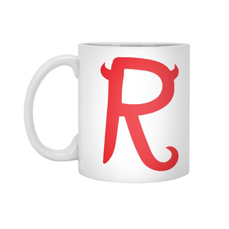 "Rebellious ""R"" Accessories Standard Mug by Rebellious Magazine"