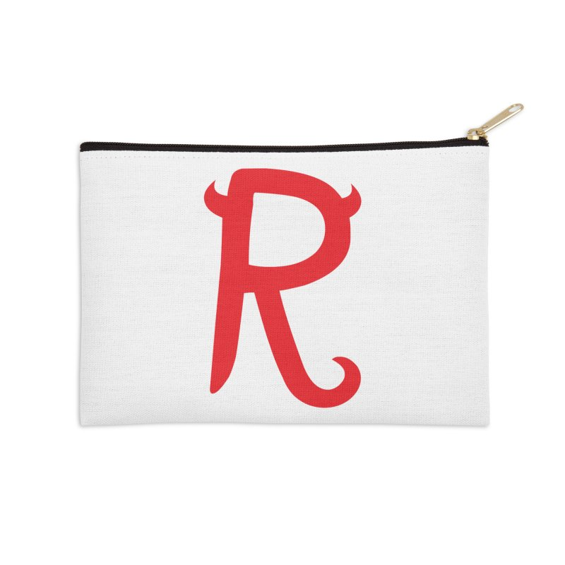 "Rebellious ""R"" Accessories Zip Pouch by Rebellious Magazine"