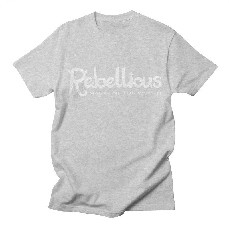 ____ and White Women's Unisex T-Shirt by Rebellious Magazine
