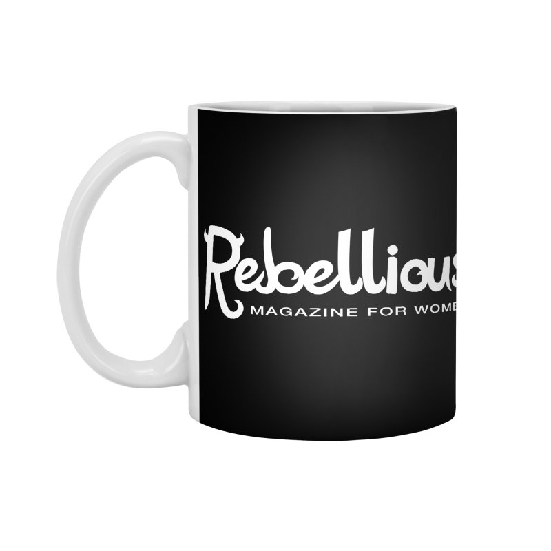 ____ and White Accessories Standard Mug by Rebellious Magazine