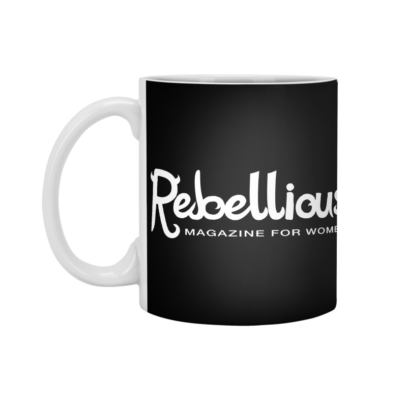 ____ and White Accessories Mug by Rebellious Magazine