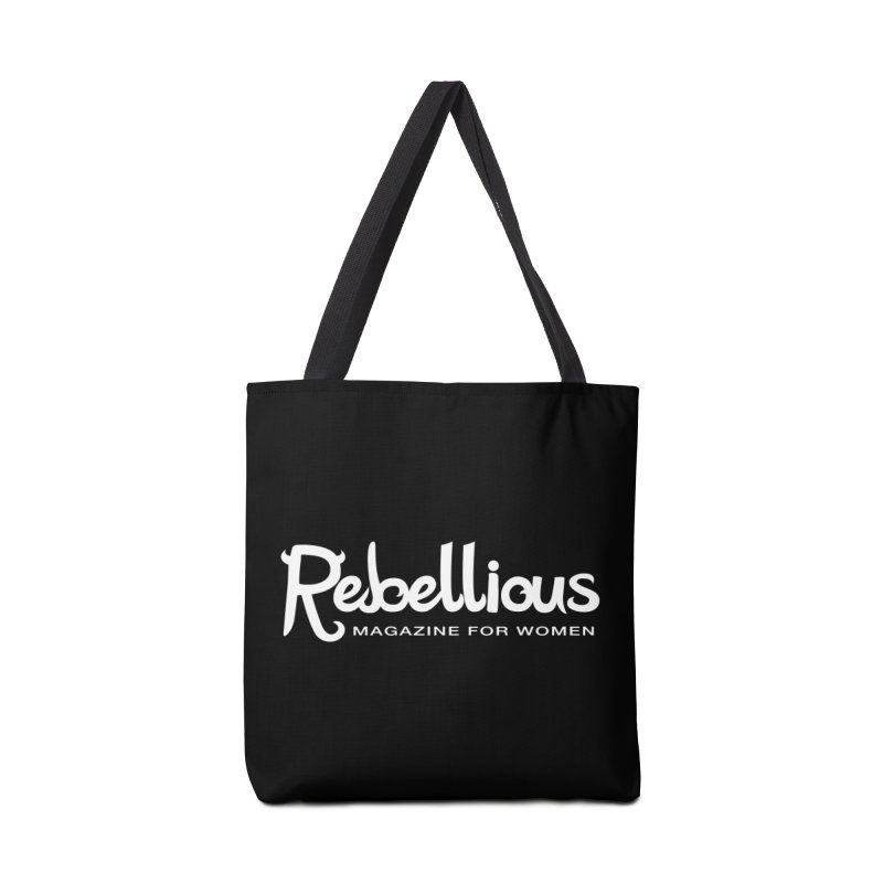 ____ and White Accessories Bag by Rebellious Magazine