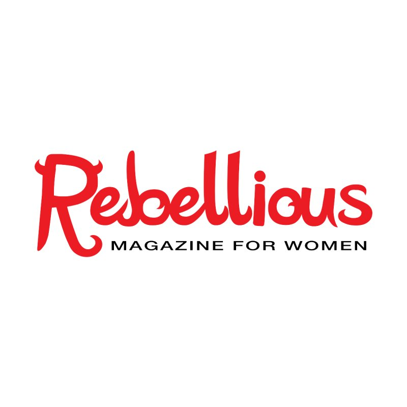 Rebellious Red Women's Fitted T-Shirt by Rebellious Magazine