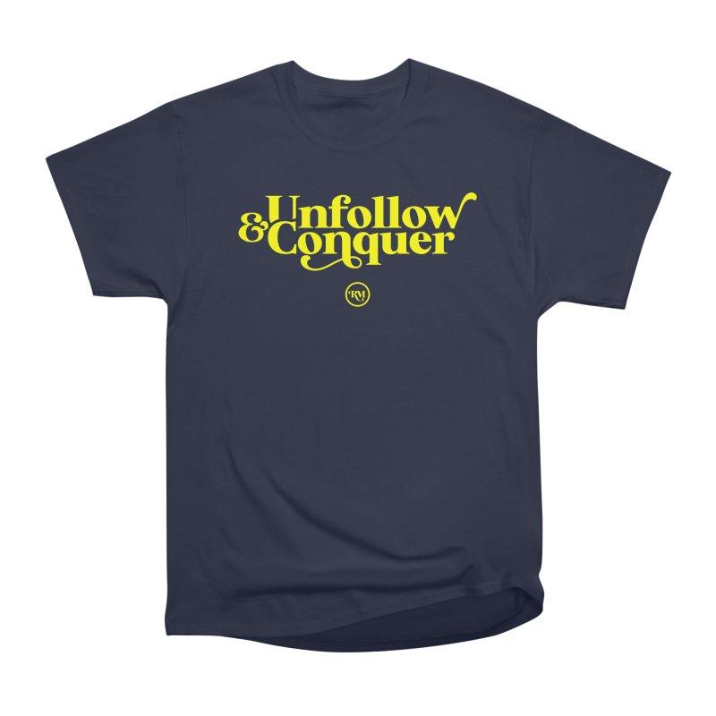 U&C Men's Heavyweight T-Shirt by Rebel Mulata