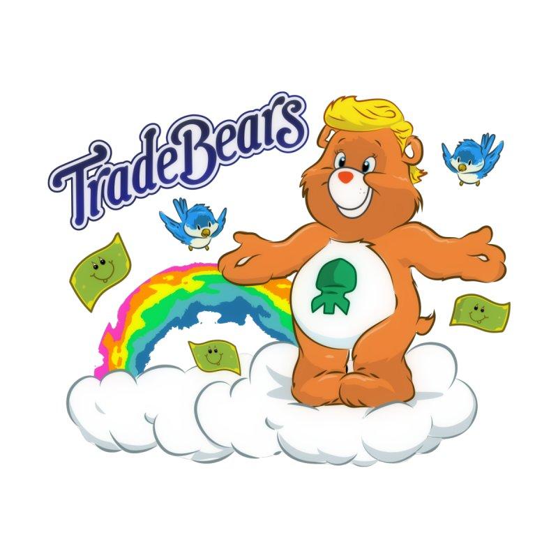 Trade Bears Men's T-Shirt by Rebel Mulata