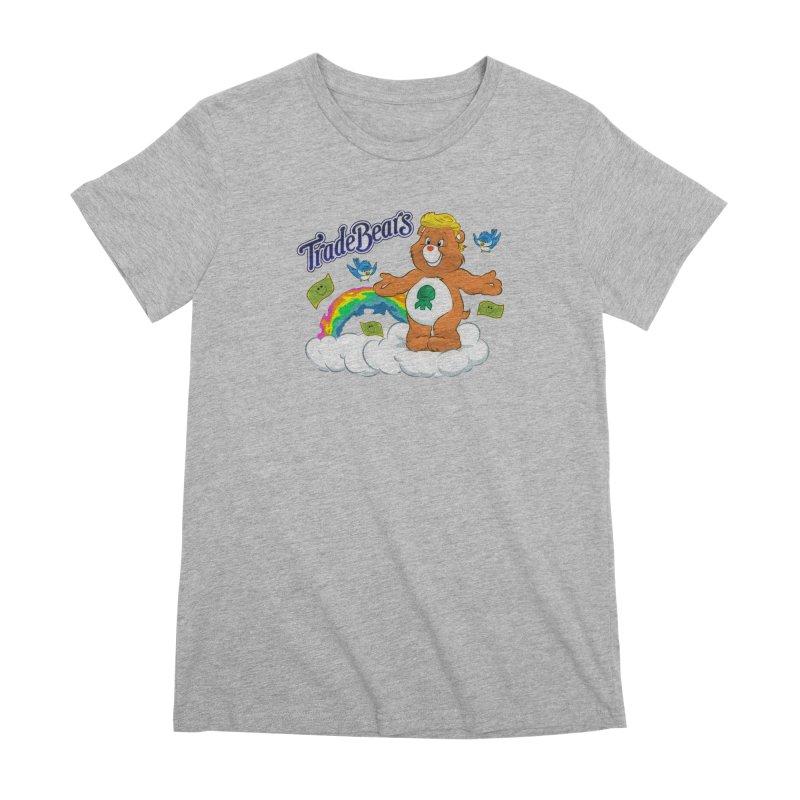 Trade Bears Women's Premium T-Shirt by Rebel Mulata