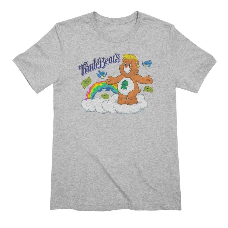 Trade Bears Men's Extra Soft T-Shirt by Rebel Mulata