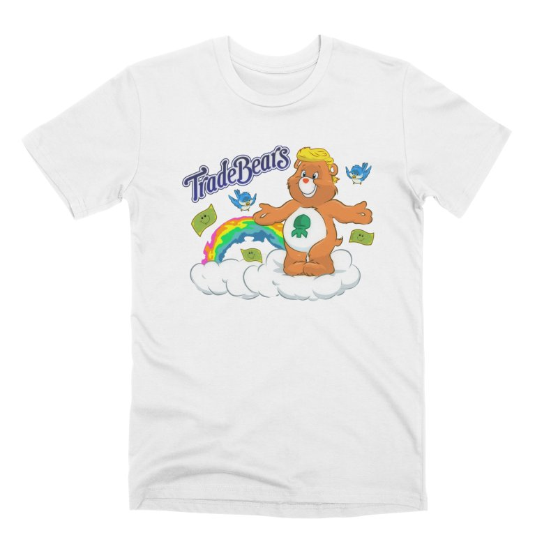 Trade Bears Men's T-Shirt by Rebel Mulata