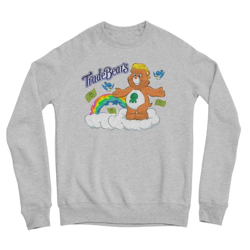 Trade Bears Women's Sponge Fleece Sweatshirt by Rebel Mulata