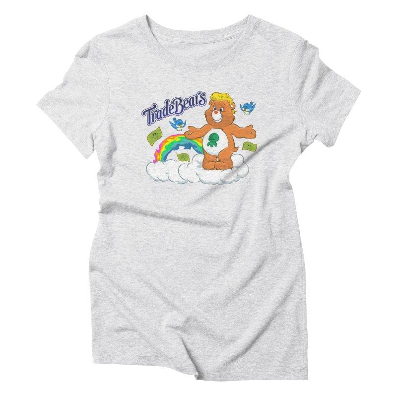 Trade Bears Women's Triblend T-Shirt by Rebel Mulata