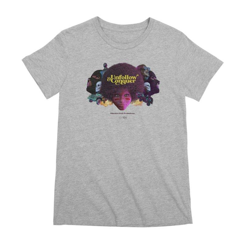 Midnight Premiere Women's Premium T-Shirt by Rebel Mulata
