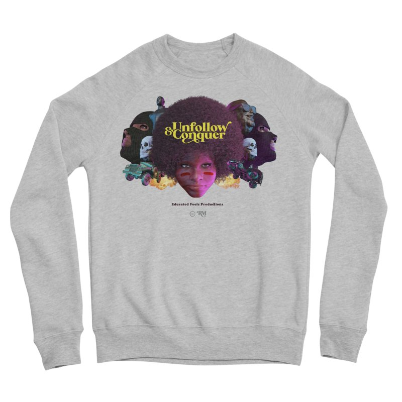 Midnight Premiere Women's Sponge Fleece Sweatshirt by Rebel Mulata