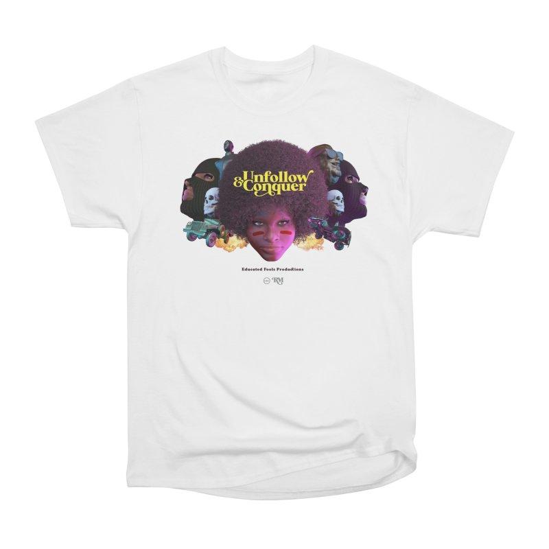 Midnight Premiere Men's Heavyweight T-Shirt by Rebel Mulata