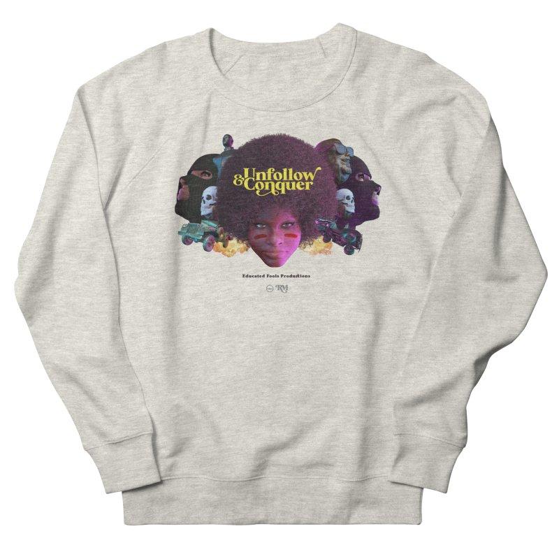 Midnight Premiere Men's French Terry Sweatshirt by Rebel Mulata