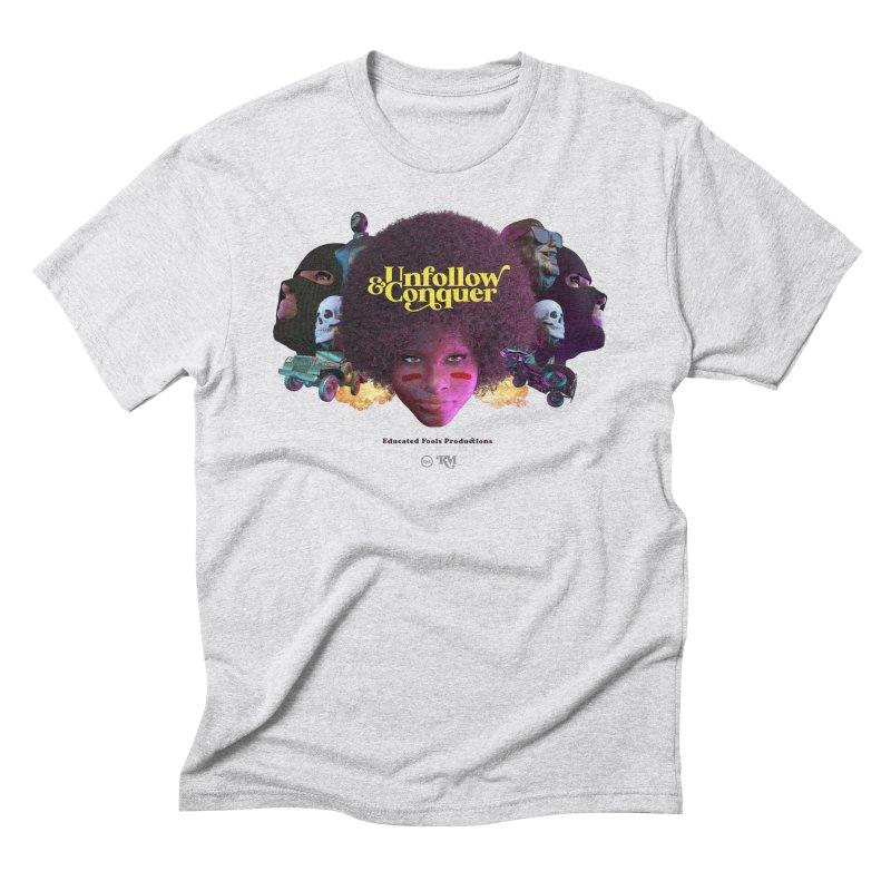 Midnight Premiere Men's Triblend T-Shirt by Rebel Mulata