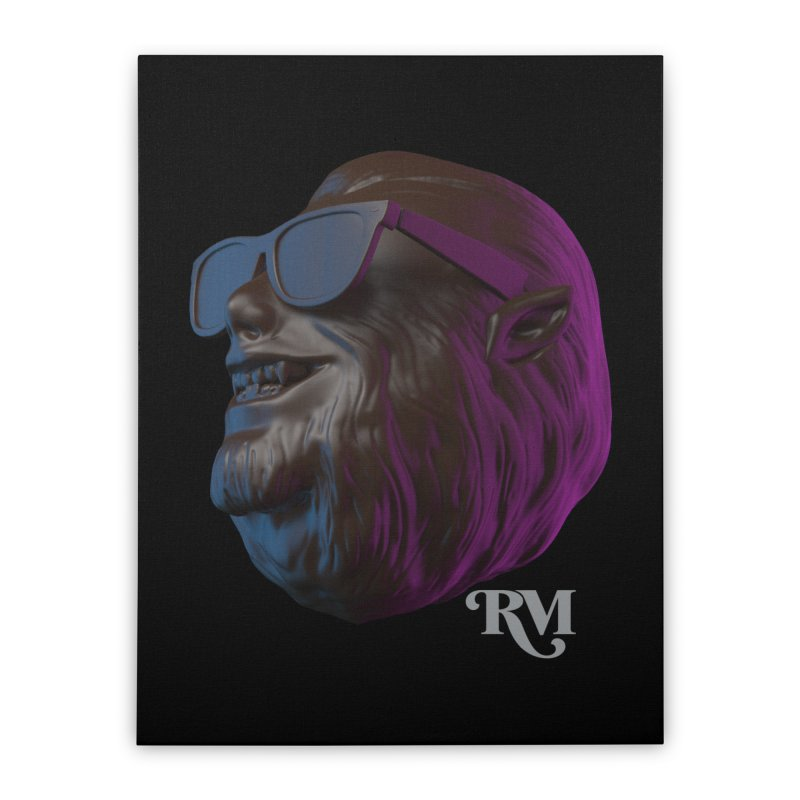 Colonel Home Stretched Canvas by Rebel Mulata