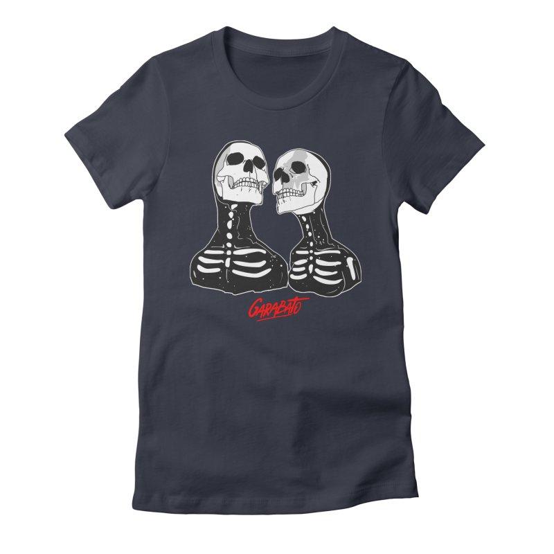 Garabato Women's Fitted T-Shirt by Rebel Mulata