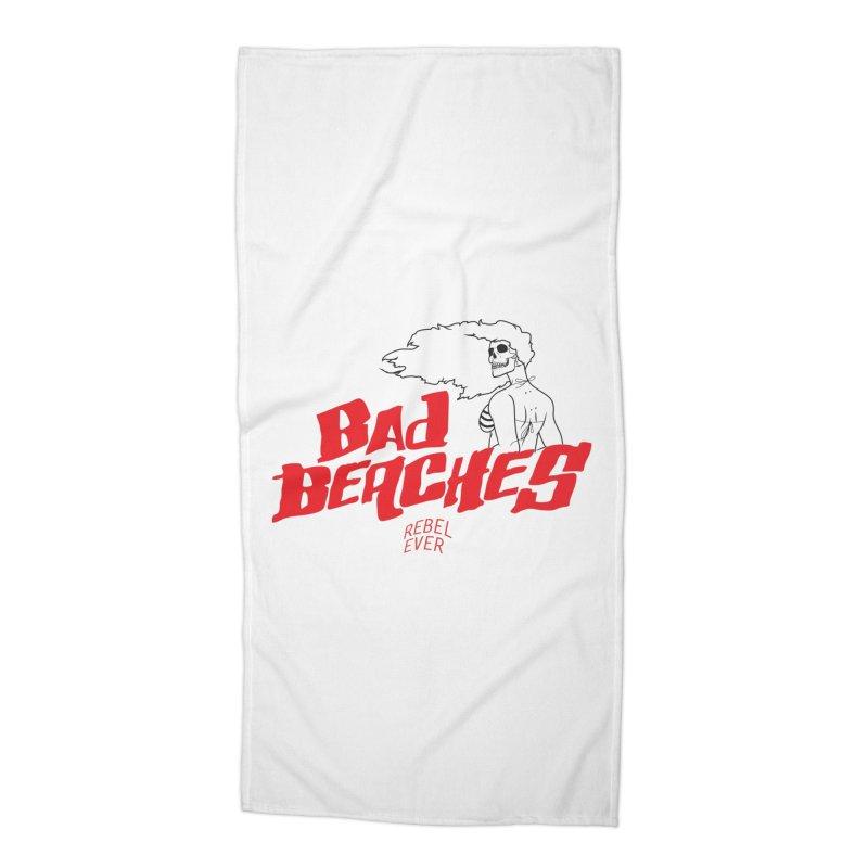 Bad Beaches II Accessories Beach Towel by Rebel Mulata