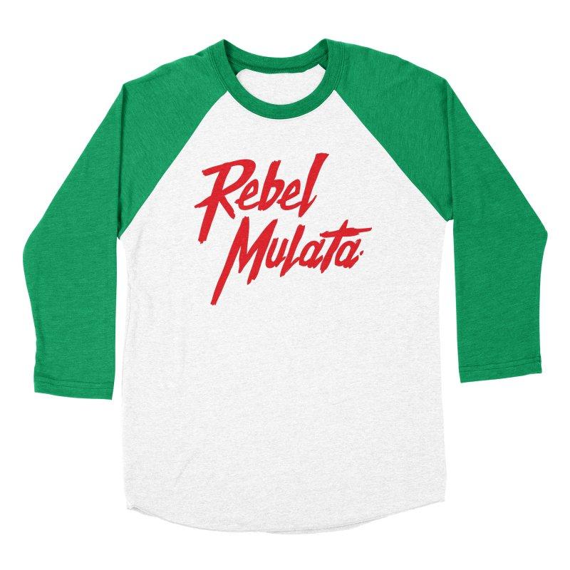 Original Men's Baseball Triblend Longsleeve T-Shirt by Rebel Mulata