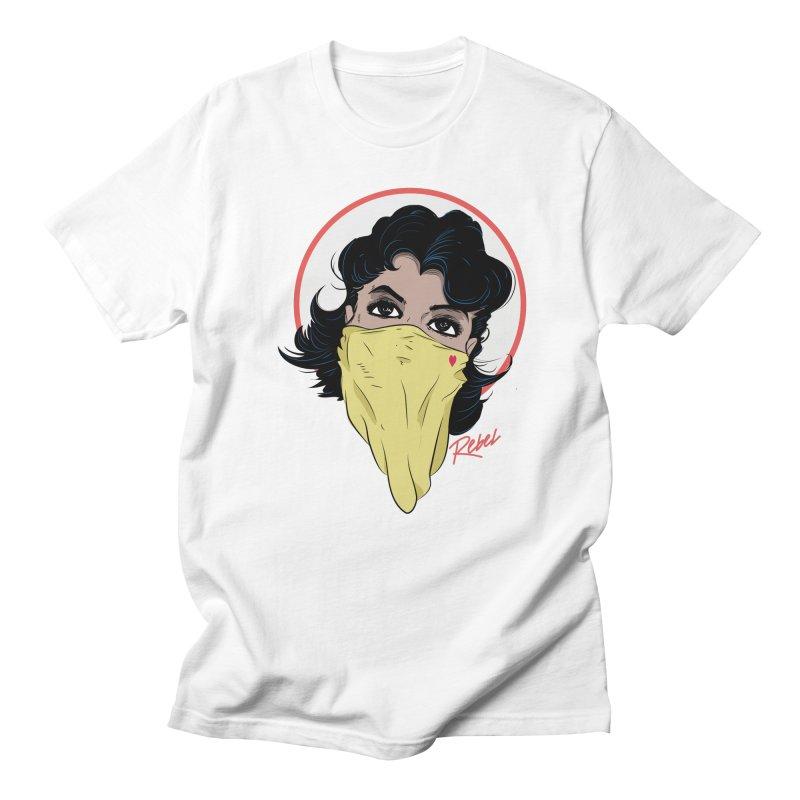 Rebel Men's Regular T-Shirt by Rebel Mulata
