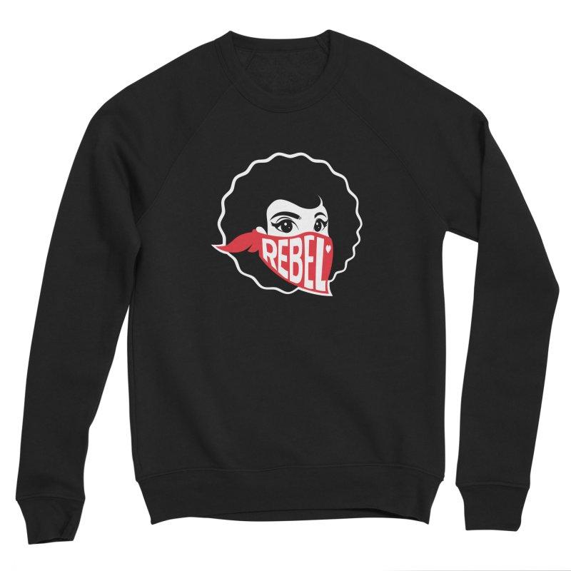 Bandana Women's Sponge Fleece Sweatshirt by Rebel Mulata