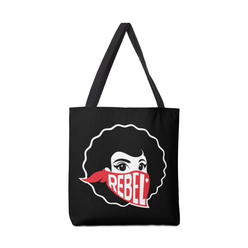 Bandana Accessories Tote Bag Bag by Rebel Mulata