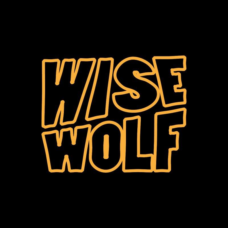 WISE Typo Men's T-Shirt by Rebel Mulata