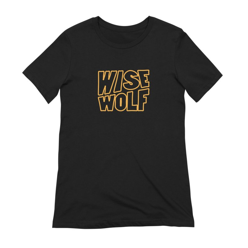 WISE Typo Women's Extra Soft T-Shirt by Rebel Mulata