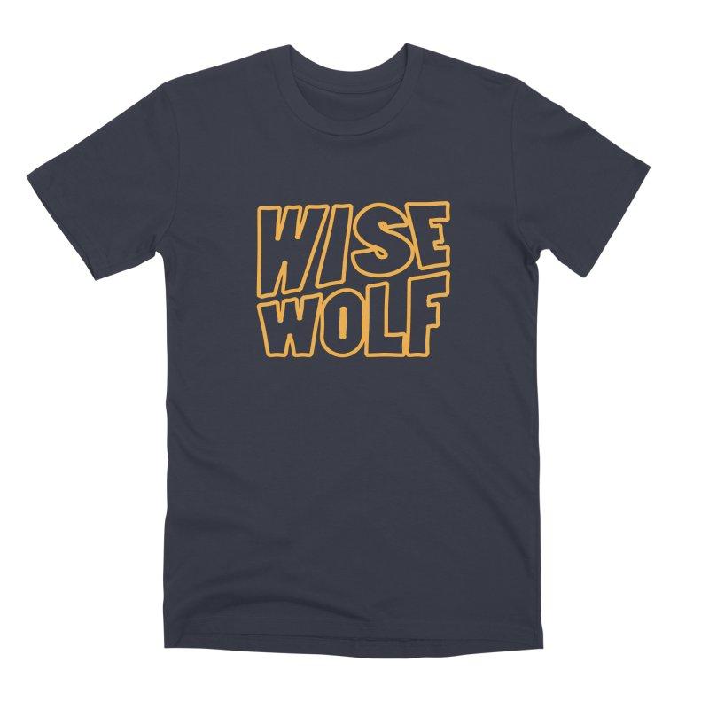 WISE Typo Men's Premium T-Shirt by Rebel Mulata
