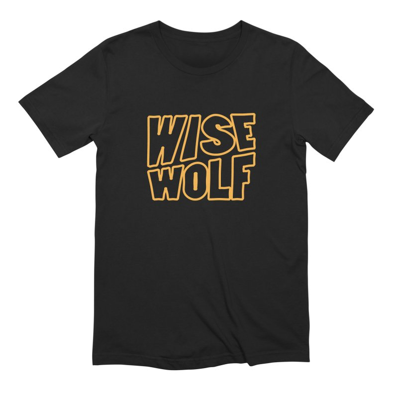 WISE Typo Men's Extra Soft T-Shirt by Rebel Mulata