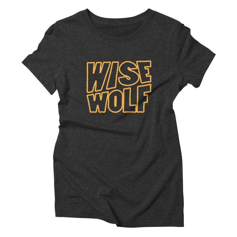 WISE Typo Women's Triblend T-Shirt by Rebel Mulata