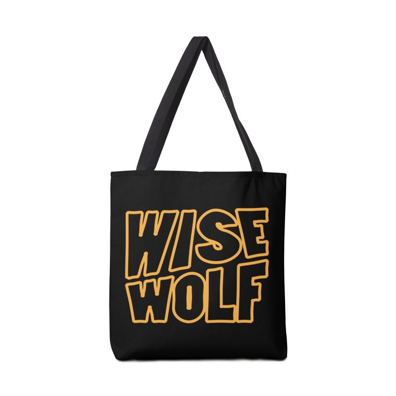 WISE Typo Accessories Tote Bag Bag by Rebel Mulata