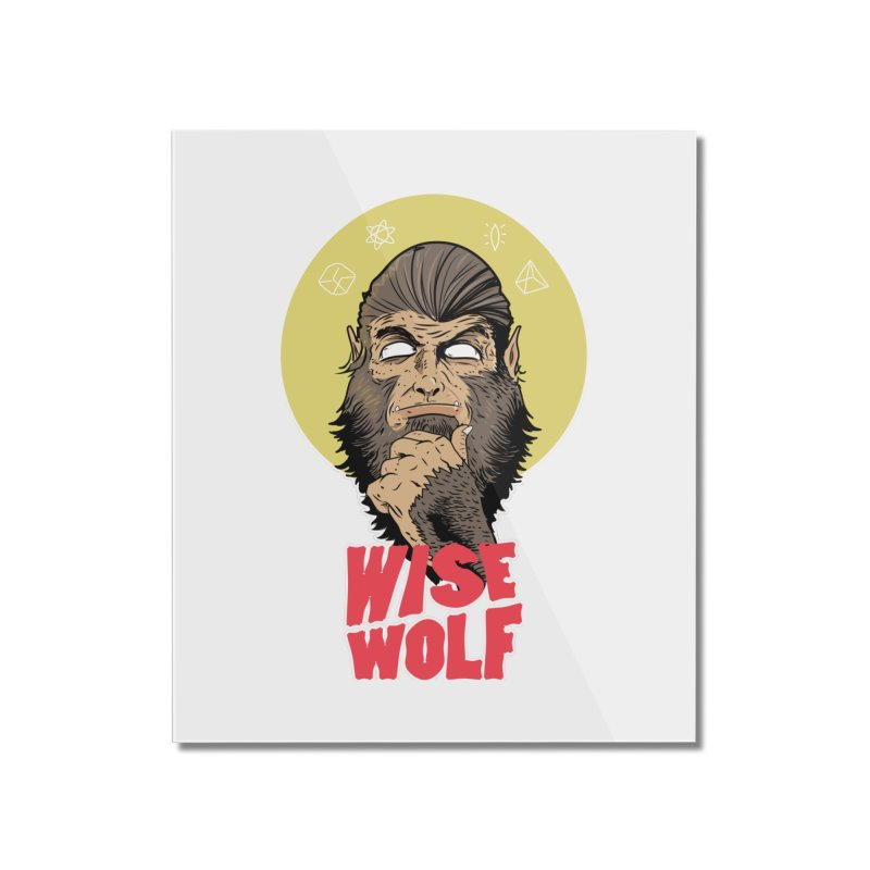 WISE Home Mounted Acrylic Print by Rebel Mulata