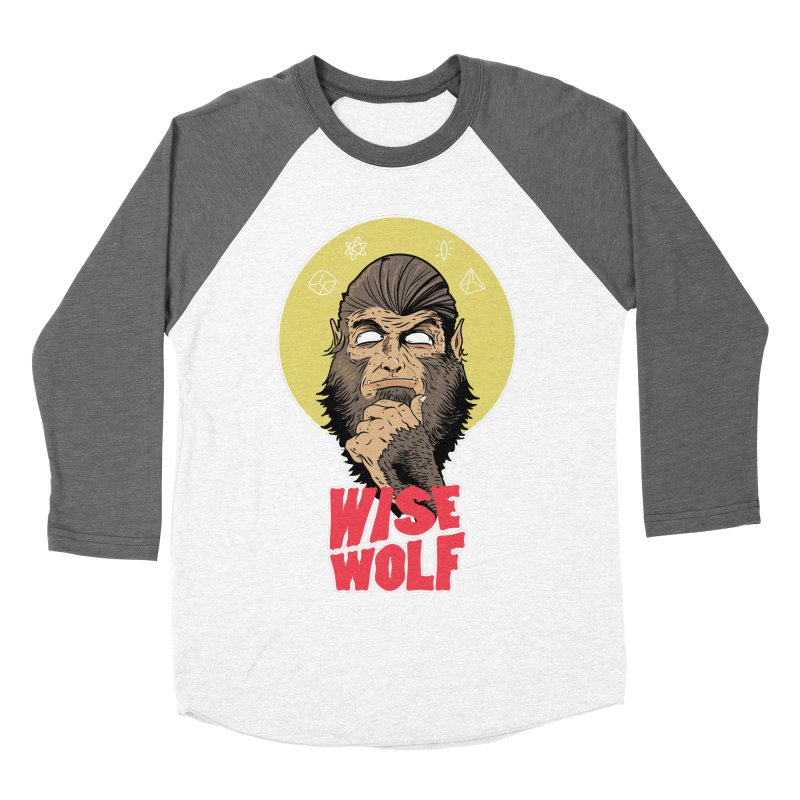 WISE Men's Baseball Triblend Longsleeve T-Shirt by Rebel Mulata