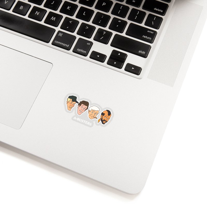 A-BUSTERS Accessories Sticker by Rebel Mulata