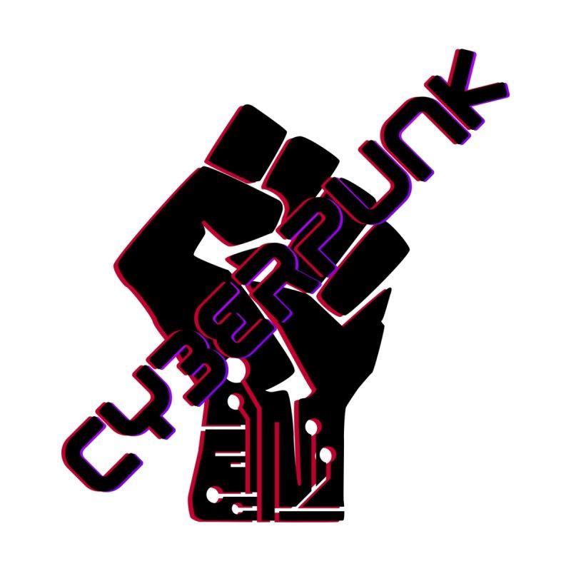 Cyberpunk Fist Men's T-Shirt by Rebel Shirts