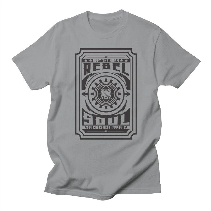 Defy the Norm - Black Men's Regular T-Shirt by rebelsoulstudio's Artist Shop